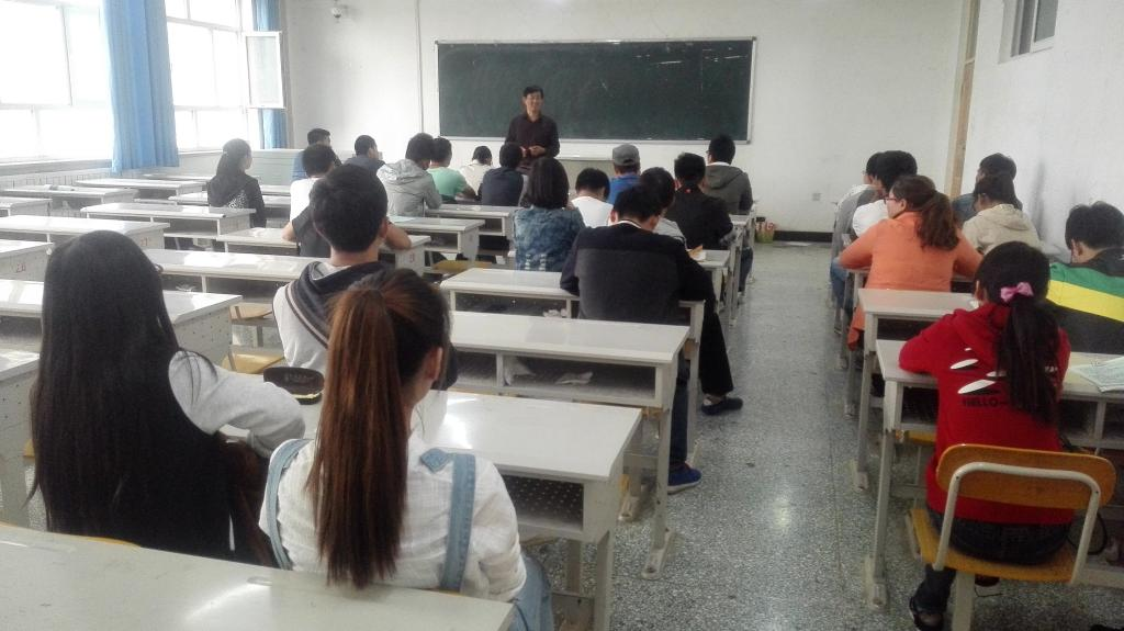 杨建华教授介绍了塔里木大学与中国农业大学联合培养